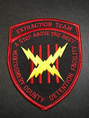 Montgomery County Det. Facility Extraction Team  Shoulder Patch