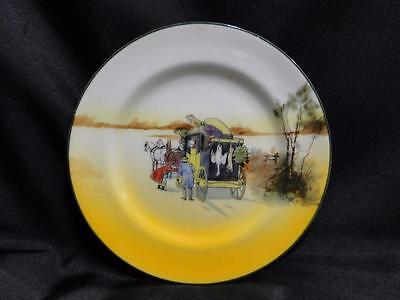 "Royal Doulton Coaching Days, Coach w/ Hanging Animals: Bread Plate, 6 7/8"", 9b"