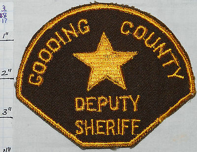 Idaho, Gooding County Deputy Sheriff Dept Patch
