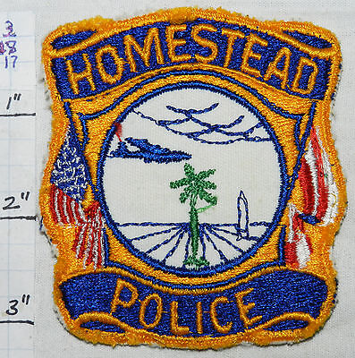 Florida, Homestead Police Dept Patch
