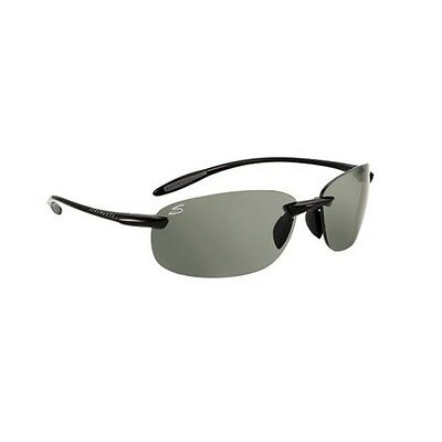 Serengeti Nuvino Sunglasses (Cpg Shiny Black Frame)