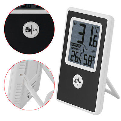 TS-WS-43 Indoor Outdoor Temperature Humidity Meter Wireless Thermometer XRAU