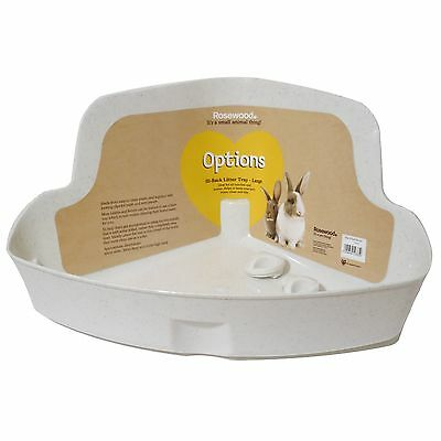Rosewood Corner Rabbit Litter Tray Large