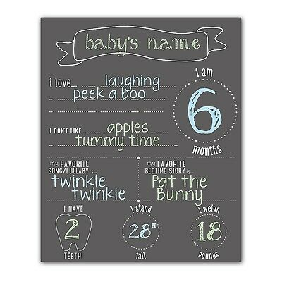 Pearhead All About Baby 4-Piece Chalkboard