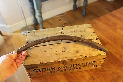 Vintage Wooden Advertising Coat Hanger – Drakeford Tailor Brierley Hill – Great!
