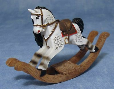 DOLLS HOUSE 1/12th SCALE ROCKING HORSE
