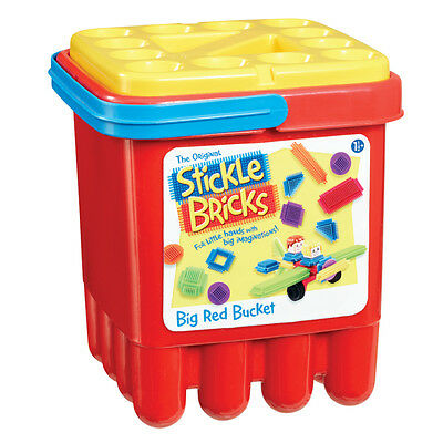 The Original Stickle Bricks Big Red Bucket NEW