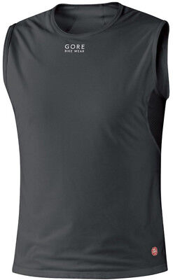 Gore Bike Wear BASE LAYER WINDSTOPPER Singlet Black 2017 XX-Large