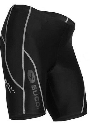 Sugoi Piston 200 Womens Compression Bike Shorts Black