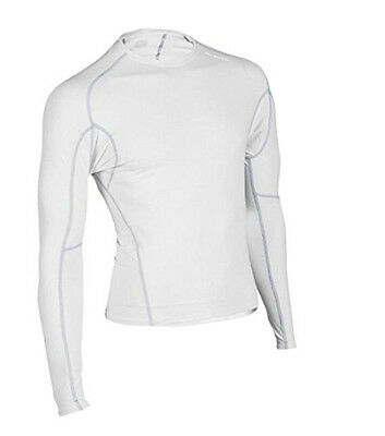 Sugoi Piston 140 Mens Long Sleeve Compression Shirt White