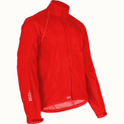 Sugoi RS 611 Event Long Sleeve Bike Jacket Chili Red