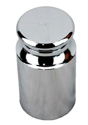 5 KG Cylindrical Chrome Calibration Weight - OIML-M1