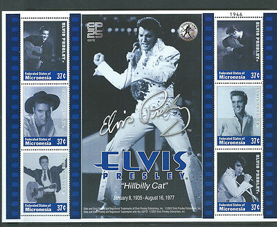Federated States of Micronesia unmounted mint Elvis Presley sheet MNH