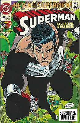 Superman #81 (Dc) 2Nd Series - 1987