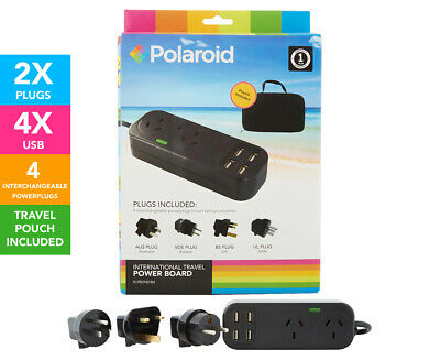 Polaroid International Travel Power Board - Black