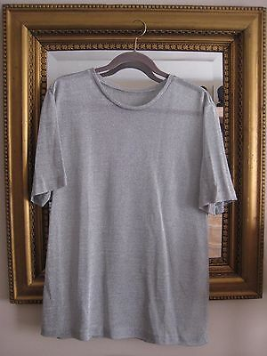 RARE Barbra Streisand Personally Owned Silver Lame Mesh Tunic