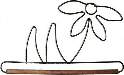 6 Inch Metal Flower Hanger-Hanger Goes with Stack o Flowers Wall Hanging Pattern