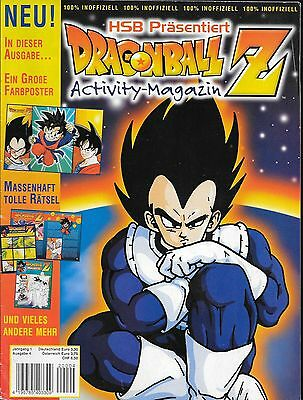 HSB Präsentiert Dragonball Z Activity-Magazin Nr.4