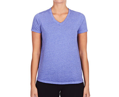 Champion Women's Wash V-Neck Tee - Flight Blue