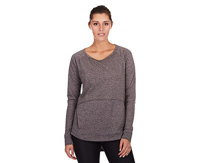Champion Women's Cover-Up Crew - Granite Heather