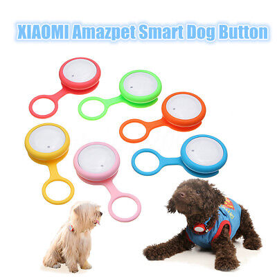 XIAOMI Amazpet Bluetooth Anti-lost Smart Pet Dog Button Tag LED Tracker Finder