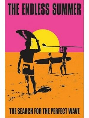 """The Endless Summer poster """"In Search for Perfect Wave"""" Large Size 61cm X 91.5cm"""