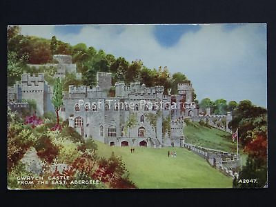North Wales ABERGELE GWRYCH Castle c1934 Postcard by Valentine A2047
