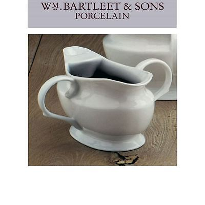 W M Bartleet & Sons White Porcelain Gravy Fat Separator