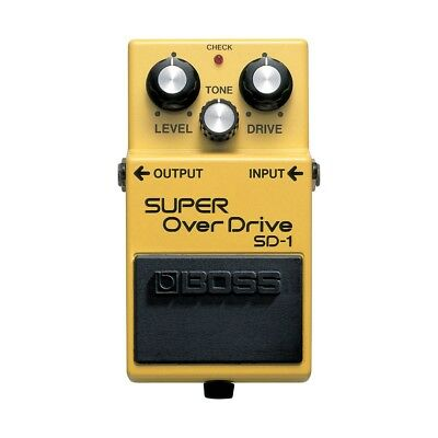 Boss SD1 | Super Overdrive | Guitar Effects Pedal