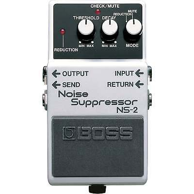 Boss NS2 | Noise Suppression | Guitar Effects Pedal