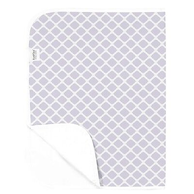 Kushies Waterproof Change Pad - Lilac Lattice