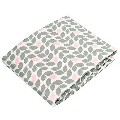 Kushies Change Pad Fitted Sheet - Grey Petal