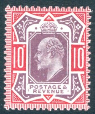 1911-13 10d Dull Red Purple & Carmine Sg Spec M44 (6) UNMOUNTED MINT V74470