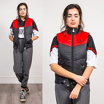 Adidas Padded Gilet Waistcoat Zip Fasten Vintage 90's Casual Sports Casuals 8