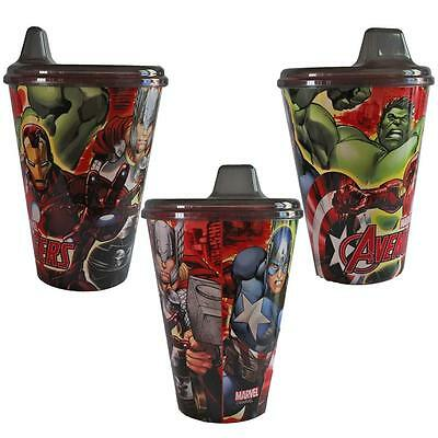 Plastic Picnic Lunch Dinner Sipper Tumbler Cup - Marvel Avengers