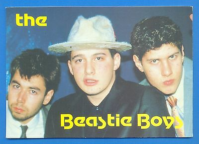 The Beastie Boys.postcard Published 1987