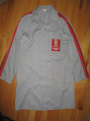 Vintage ROLLS ROYCE Bentley (LG) Crew Factory Bench Work Jacket Shirt
