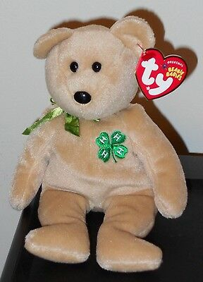 NMT* Ty Beanie Baby ~ CLOVER the 4-H Club Exclusive Bear MINT w/  NEAR MINT TAGS