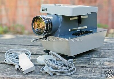 Rollei Projector P11.0 Dual Format (35mm & 6x6) Slide Projector JUST SERVICED