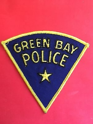 Green Bay Wisconsin 1960's Old  Rare Police  Shoulder Patch