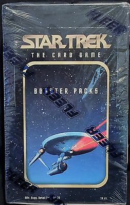 STAR TREK The Card Game (1996) - Booster Card Pack Sealed Box - Fleer Skybox