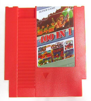 Super Games 400 in 1 (Nintendo Entertainment System) Classic NES Video Game Cart