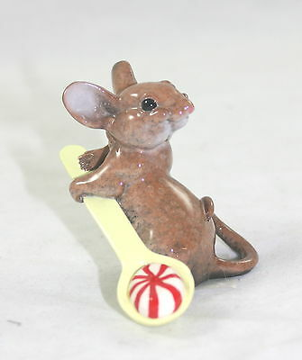 Kitty's Critters Mouse Figurine Sweetie with Candy NIB