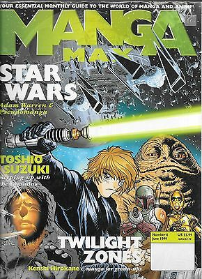 Manga Max No.6 / 1999 Star Wars The Manga