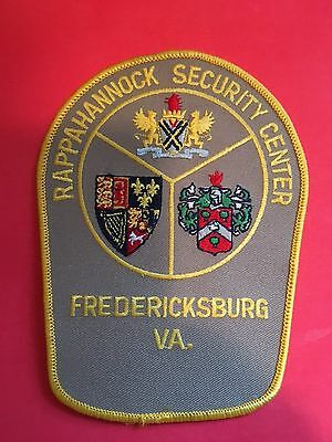 Fredericksburg Virginia Rappahannock Security Center Shoulder Patch