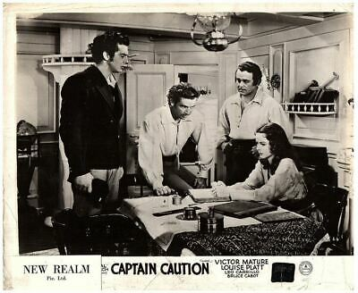 Captain Caution Original Lobby Card 1940 Victor Mature Louise Platt Bruce Cabot