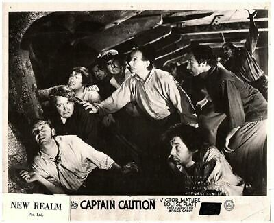 Captain Caution Original British Lobby Card 1940 Victor Mature