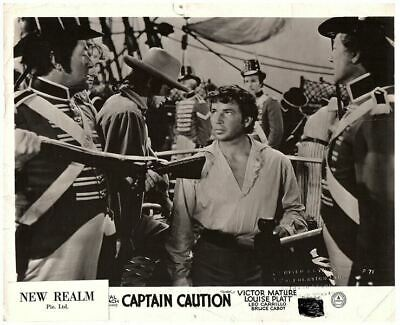 Captain Caution Original British Lobby Card 1940 Victor Mature Alan Ladd