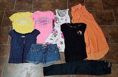 Lot of 8 Name Brand Casual Teen/JR Clothes Size XS