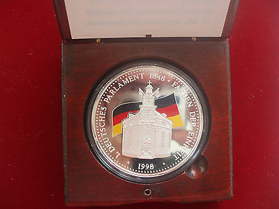 5 Oz Medal Germany Colors of the Unit proof Silver